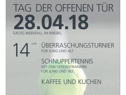 Einladung zum Tag der offenen Tür am 28. April 2018 ab 14 Uhr