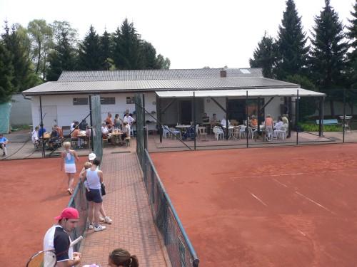 Vereinsheim des TC75 Gross-Bieberau