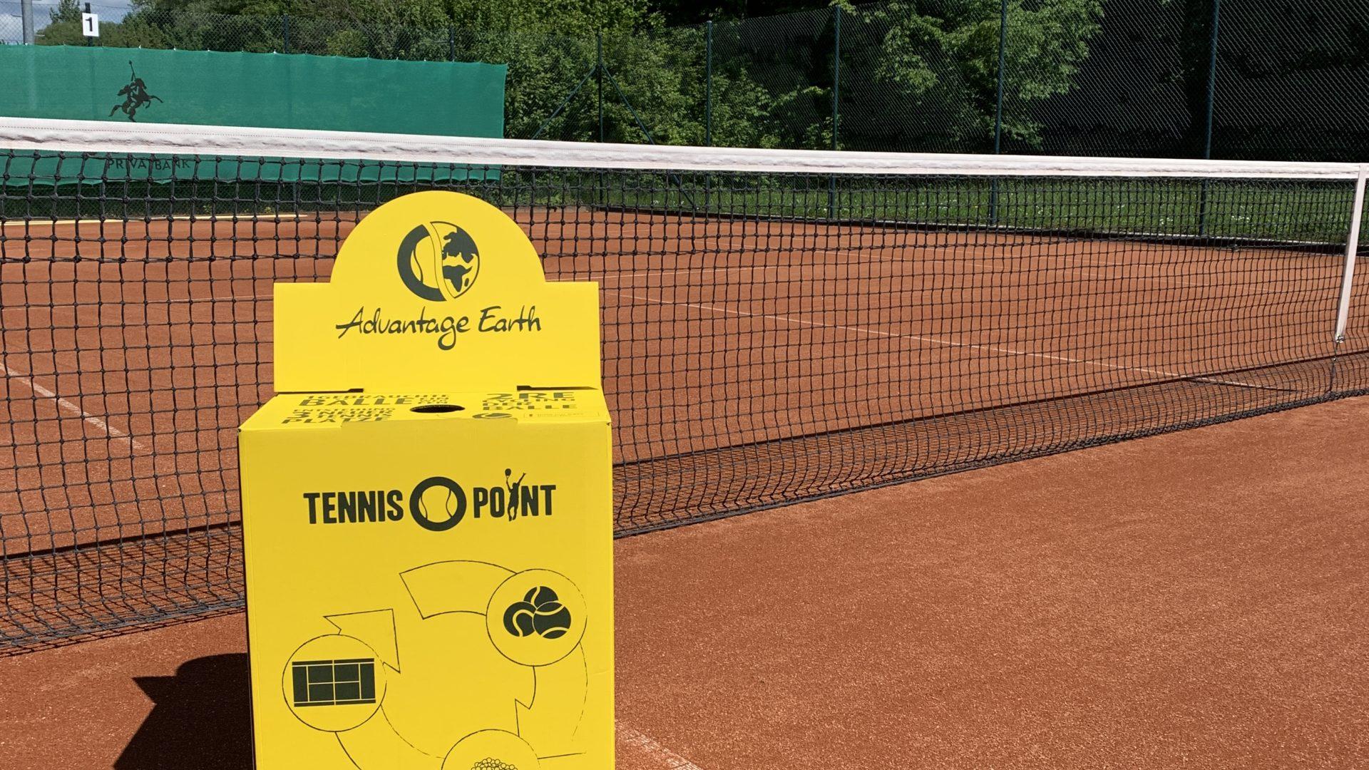 Der Tennisclub Groß-Bieberau engagiert sich im umweltfreundlichen Ball-Recycling